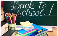 Update Return to School 18th August