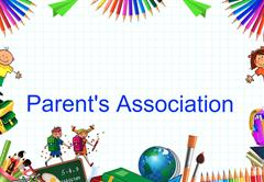 Parent Association  Virtual Meeting